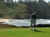 Golf at Norfolk Island's waterside golf course